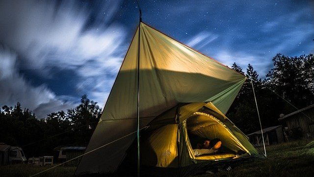 Be careful of snoring if you're going camping